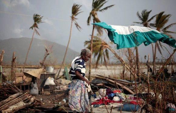 Las afectaciones por el huracán Matthew en Haití son impresionantes. Foto: Reuters.