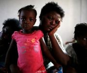 Proteger a los niños es uno de los objetivos más importantes en la devastada Haití. Foto: Reuters.