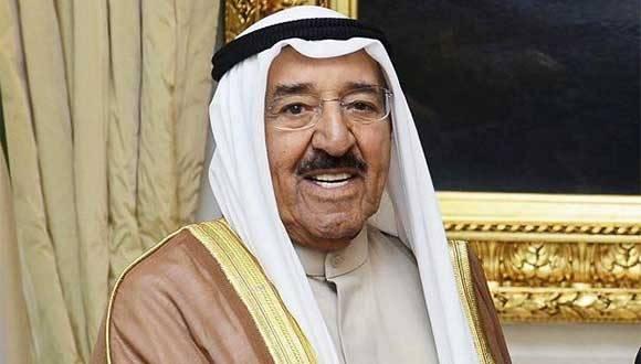 El emir de Kuwait, jeque Sabah Al Ahmad Al Jaber Al Sabah. Foto: Archivo.