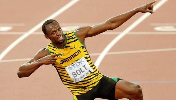 Usain Bolt. Foto: Archivo.