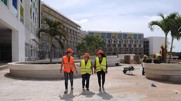 La inmobiliaria Almest es una de las entidades mayores y más experimentadas de su tipo en la Isla. Ha participado como inversionista en la ejecución de la planta hotelera de los diferentes polos turísticos del país. Foto: Raúl Pupo/ Juventud Rebelde