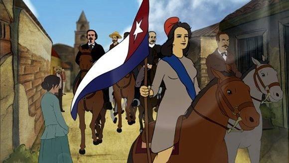 La proyección del cortometraje, titulado Liberación, aconteció en el cine Carlos Manuel de Céspedes, nombre del Padre de la Patria, cerca de la primera plaza denominada de la Revolución en el país y de donde fue entonado por primera vez el Himno Nacional, hace hoy 148 años.
