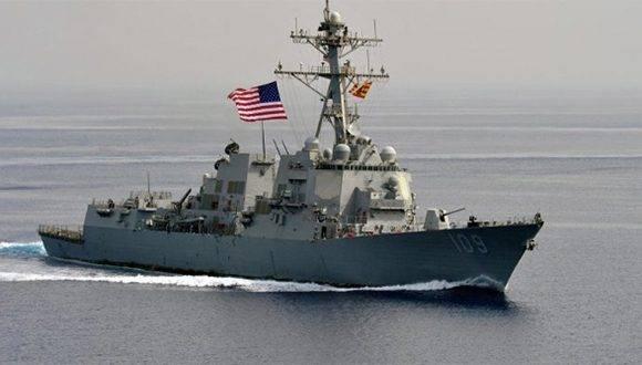 Este sería el segundo ataque perpetrado contra las FF.AA de EE.UU. frente a las costas de Yemen. | Foto: US NAVI.