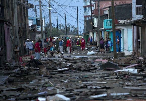 La escalofriante imagen del huracán Matthew en el Caribe