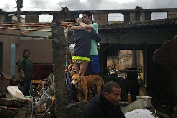 Daños en Baracoa. Foto: Ramón Espinosa/ AP