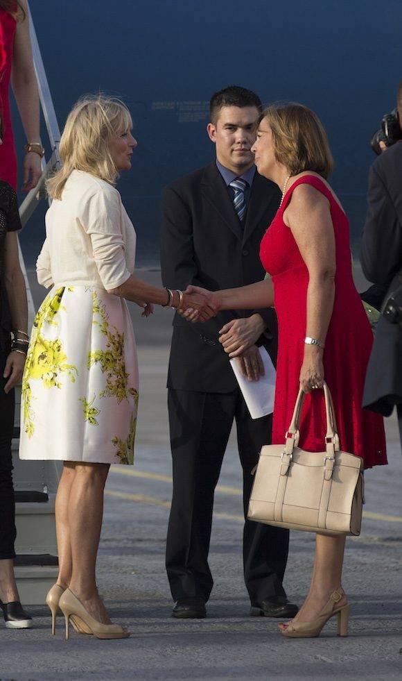 Jill Biden en Cuba para conocer logros en salud y educación. Foto: Ismael Francisco/ Cubadebate