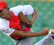 José Ángel García, el mejor cerrador en la historia del béisbol cubano, refuerza notablemente el cuerpo de lanzadores de Ciego de Ávila. Foto: Radio Rebelde.