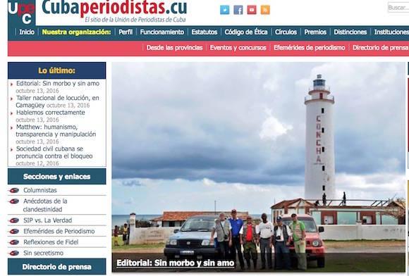 Denuncia la Unión de Periodistas de Cuba informe destinado a acusar a la Isla ante la OEA