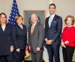 delegación del MES en EEUU