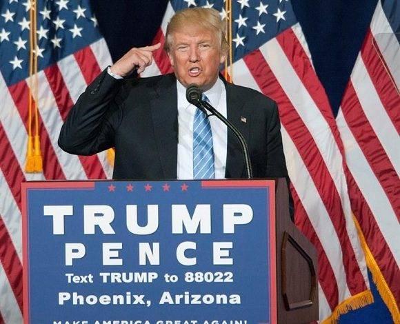 Donald Trump anunció el cierre de su Fundación. Foto: EFE.