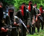 Miembros del Ejército de Liberación Nacional (ELN). Foto; S.H.M.