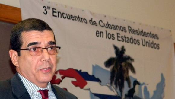 Embajador cubano en Estados Unidos, José Ramón Cabañas. Foto: PL.