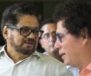 Ivan Marquez, el jefe negociador por las FARC. Foto: Desmond Boylan/ AP
