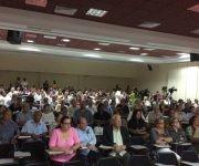 Representantes de la sociedad civil cubana unieron sus voces contra el Bloqueo este miércoles. Foto: María del Carmen Ramón/ Cubadebate.
