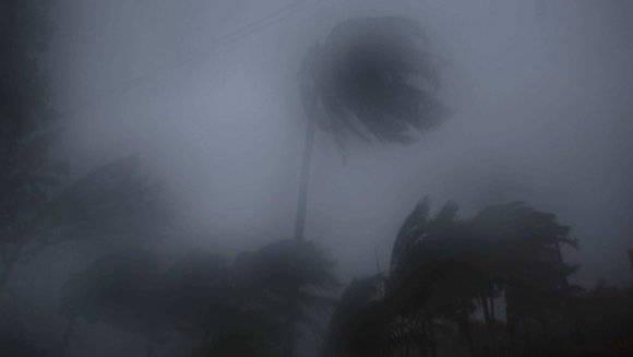 fuertes vientos en Baracoa