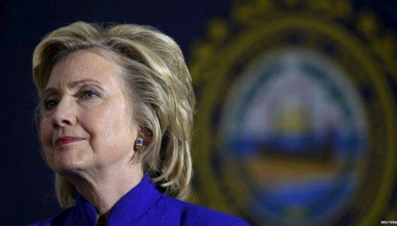 Hillary Clinton. Foto: Reuters.