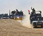 Fuerzas iraquíes, en su ruta a Mosul. Foto: Agencia.