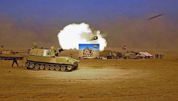 La ofensiva comenzó el 17 de octubre. El Ejército de Irak inició el ataque para quitarle el control de Mosul al grupo Estado Islámico (ISIS, por sus siglas en inglés) tras el anuncio del primer ministro iraquí Haider al Abadi. Foto: Agencia.
