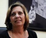 Josefina Vidal Ferreiro, Directora General de Estados Unidos de América, del Ministerio de Relaciones Exteriores (MINREX), ofrece conferencia de prensa con motivo de la valoración sobre la directiva presidencial dada a conocer en los Estados Unidos, en la sede de la cancillería, en La Habana, Cuba, el 14 de octubre de 2016.   ACN FOTO/Omara GARCÍA MEDEROS/sdl