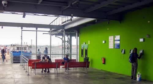 El nuevo embarcadero de La Habana Vieja para la lanchita de Regla. Foto: Tribuna de La Habana