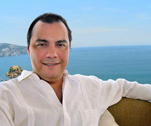 Presidente de la Asociación de Hoteles y Empresas Turísticas de Acapulco (Aheta), Jorge Laurel. Foto: Archivo.