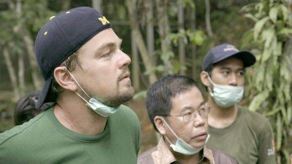 "Leonardo DiCaprio en ""Before the flood"". Foto tomada de de Collider."