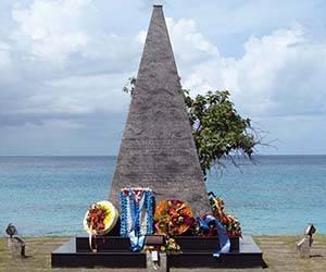 Monumento a las víctimas del atentado al avión de Barbados. Foto: CubaMinrex/Archivo.