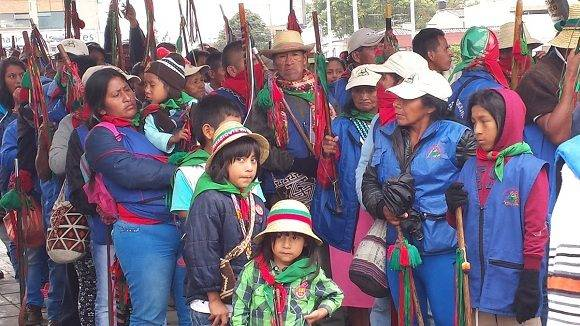 Marcha a favor de la paz. Foto: @LHoyosteleSUR.