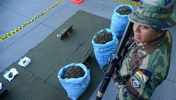 Incautan 14 toneladas de marihuana en Bolivia. Foto: Archivo.