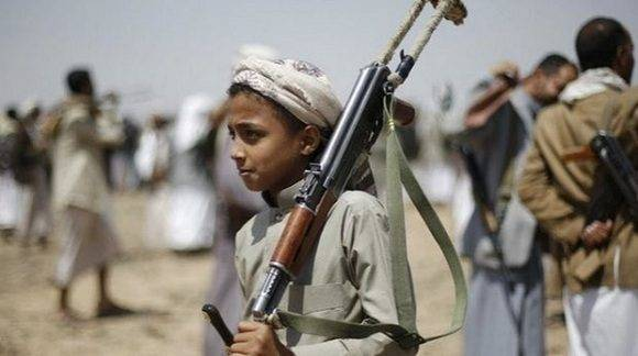 La guerra en Yemen afecta la vida de sus menores. Foto: EFE.