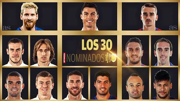 La Liga Española encabeza es la competición con más candidatos en la lista de nominados. Imagen: AS.