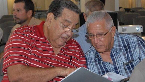 Coloquio Fidel Castro, pensamiento y presencia en Camagüey, efectuado en el centro de convenciones Santa Cecilia. Foto: Otilio Rivero.