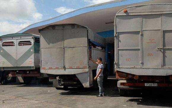 Los precios del diesel en servicentros han oscilado entre 1 CUC y 1.20 CUC el litro; mientras en el mercado negro alcanzan 6, 7 y hasta 10 pesos MN. Foto: Ramón Barreras.
