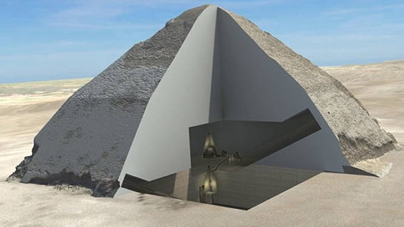 """Científicos descubren dos """"anomalías"""" secretas en la pirámide de Keops"""
