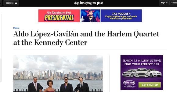 Artículo dedicado a Aldo López Gavilán en el Washington Post.