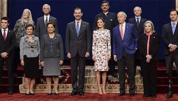 Premios Princesa de Asturias 2016. Foto: El País.