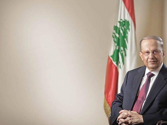 Michel Aoun es el décimo tercer presidente de Líbano. Foto: i24news.