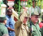 raul castro en santiago de Cuba