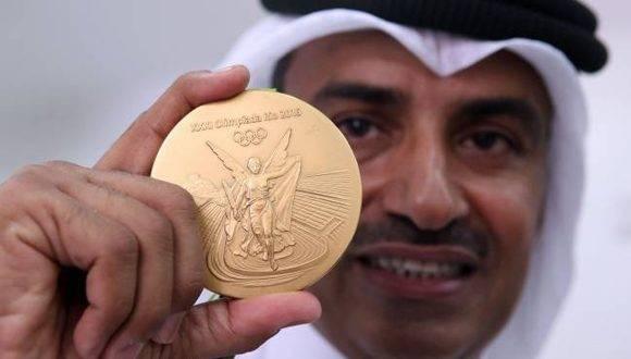 Fehaid al-Deehani, campeón olímpico de tiro en Río 2016. Foto: AFP.