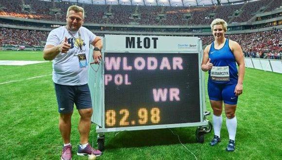 La polaca Anita Wlodarczyk. Foto: AFP.