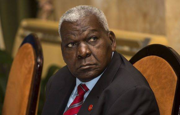 Esteban Lazo, presidente del Parlamento cubano. Foto: AP/ Desmond Boylan,