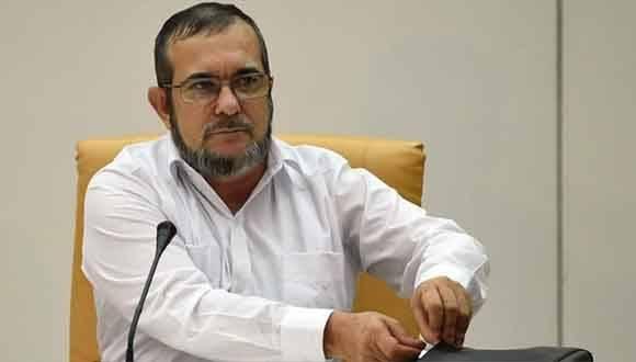 El máximo jefe de las FARC, Rodrigo Londoño, conocido como Timoshenko. Foto: Archivo.