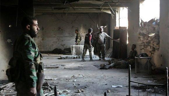 Ejército de Siria reconquista zonas claves de la ciudad de Alepo. Foto: AFP.