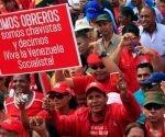 Movilizaciones en Caracas para defender la Revolución. Foto: TelesurTV.