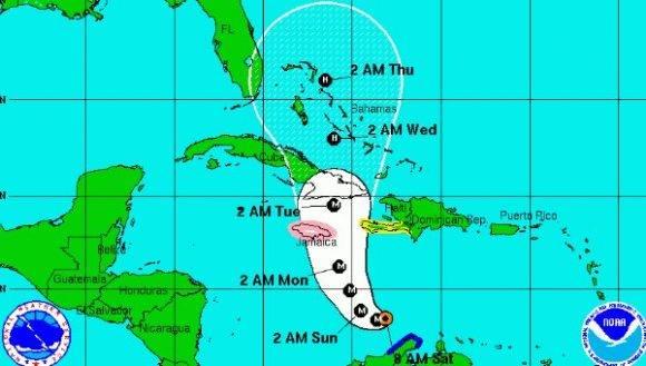 Decretan alerta ciclónica desde Camagüey hasta Guantánamo