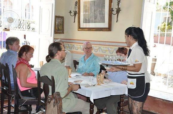 El paladar Sol Ananda sobresale por la calidad en la prestación de los servicios. (Foto: Vicente Brito/ Escambray)
