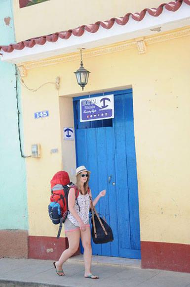 Trinidad cuenta con más del 80 por ciento de los hostales de la provincia de Sancti Spíritus. (Foto: Vicente Brito/ Escambray)