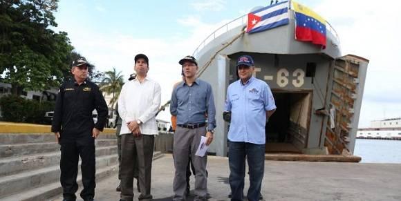 Venezuela envía ayuda humanitaria a ciudad cubana de Baracoa