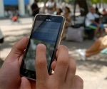 Punto wifi en La Habana. Foto: Abel Rojas Barallobre.