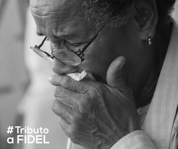 Homenaje a Fidel Castro Ruz en la Plaza de la Revolución